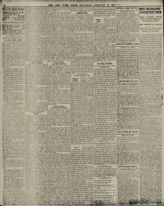New York Times, January 30, 1909, Page 8