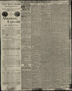 New York Times, January 30, 1909, Page 13
