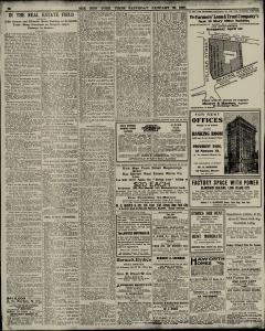 New York Times, January 30, 1909, Page 14