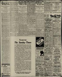 New York Times, January 30, 1909, Page 16