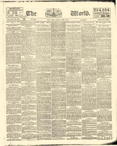 New York World, June 07, 1887, Page 1
