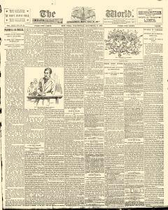 New York World, December 17, 1890, Page 1
