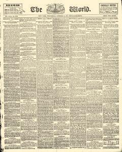 World, October 14, 1885, Page 1