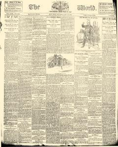 World, May 28, 1892, Page 1