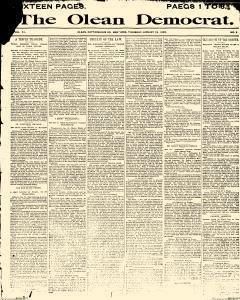 Olean Democrat, January 23, 1890, Page 1