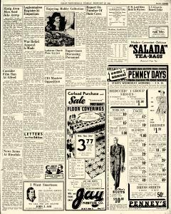 Olean Times Herald, February 25, 1941, Page 3