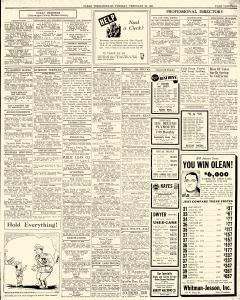 Olean Times Herald, February 25, 1941, Page 13