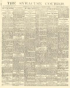 Syracuse Courier, February 09, 1893, Page 1