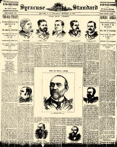 Syracuse Daily Standard, September 18, 1895, Page 1
