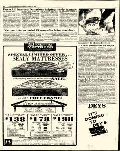 Syracuse Herald American The Post Standard, November 10, 1985, Page 168