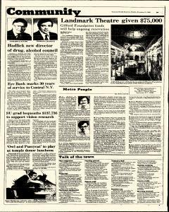 Syracuse Herald American The Post Standard, November 10, 1985, Page 181
