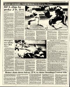 Syracuse Herald American The Post Standard, November 10, 1985, Page 203