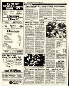Syracuse Herald American The Post Standard, November 10, 1985, Page 208