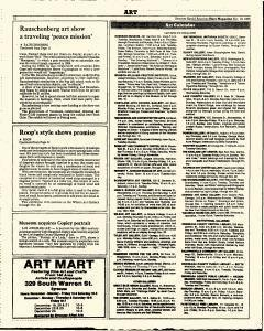 Syracuse Herald American The Post Standard, November 10, 1985, Page 330