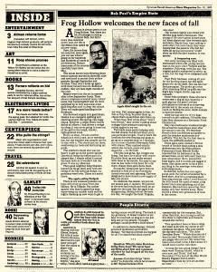 Syracuse Herald American The Post Standard, November 10, 1985, Page 44