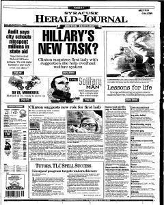 Syracuse Herald Journal, September 20, 1996, Page 1