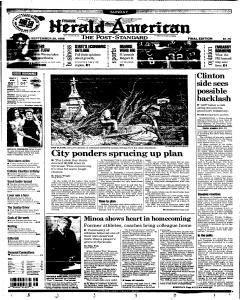 Syracuse Herald Journal, September 20, 1998, Page 1