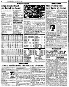 Syracuse Herald Journal, February 26, 1999, Page 18