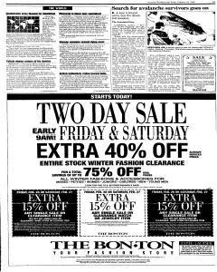 Syracuse Herald Journal, February 26, 1999, Page 3