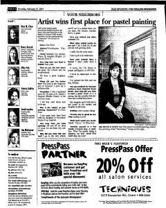 Syracuse Herald Journal, February 15, 2001, Page 41