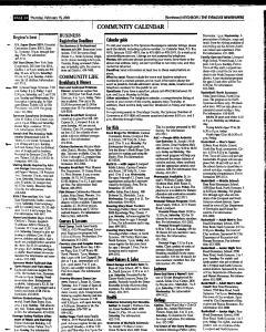 Syracuse Herald Journal, February 15, 2001, Page 100