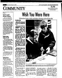 Syracuse Herald Journal, February 15, 2001, Page 130