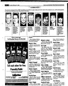 Syracuse Herald Journal, February 15, 2001, Page 138