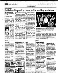 Syracuse Herald Journal, February 15, 2001, Page 142