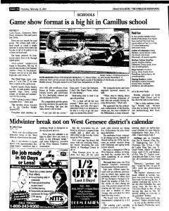 Syracuse Herald Journal, February 15, 2001, Page 206