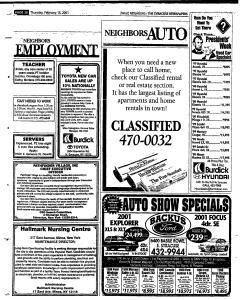 Syracuse Herald Journal, February 15, 2001, Page 228