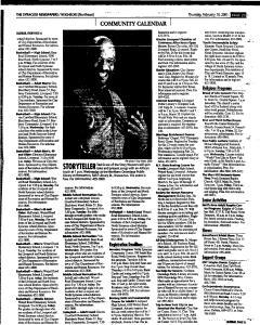 Syracuse Herald Journal, February 15, 2001, Page 101