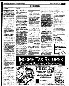 Syracuse Herald Journal, February 15, 2001, Page 143