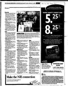 Syracuse Herald Journal, February 15, 2001, Page 107