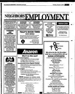 Syracuse Herald Journal, February 15, 2001, Page 111