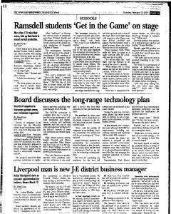 Syracuse Herald Journal, February 15, 2001, Page 209