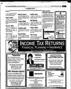 Syracuse Herald Journal, February 15, 2001, Page 257