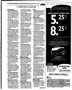 Syracuse Herald Journal, February 15, 2001, Page 135