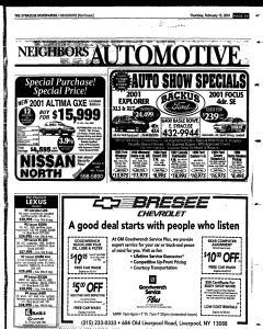 Syracuse Herald Journal, February 15, 2001, Page 115