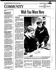 Syracuse Herald Journal, February 15, 2001, Page 97