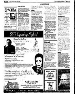 Syracuse Herald Journal, September 16, 2001, Page 134