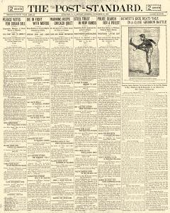 Syracuse Post Standard, November 15, 1903, Page 1