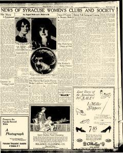 Syracuse Post Standard, August 01, 1926, Page 19