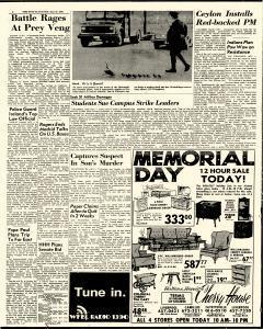 Syracuse Post Standard, May 30, 1970, Page 2
