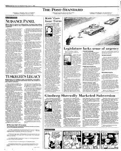 Syracuse Post Standard, April 11, 1997, Page 18