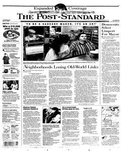 Syracuse Post Standard, May 01, 1997, Page 1