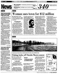 Syracuse Post Standard, May 01, 1997, Page 59