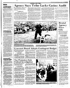 Syracuse Post Standard, May 31, 1997, Page 13