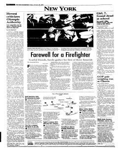 Syracuse Post Standard, January 28, 2005, Page 10