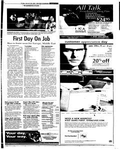 Syracuse Post Standard, January 28, 2005, Page 11