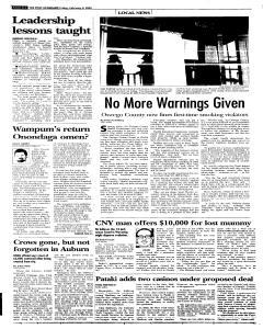 Syracuse Post Standard, February 04, 2005, Page 86